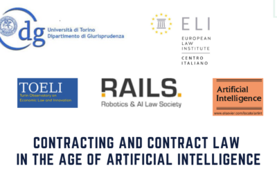 """International Workshop """"CONTRACTING AND CONTRACT LAW IN THE AGE OF ARTIFICIAL INTELLIGENCE"""" 🗓"""